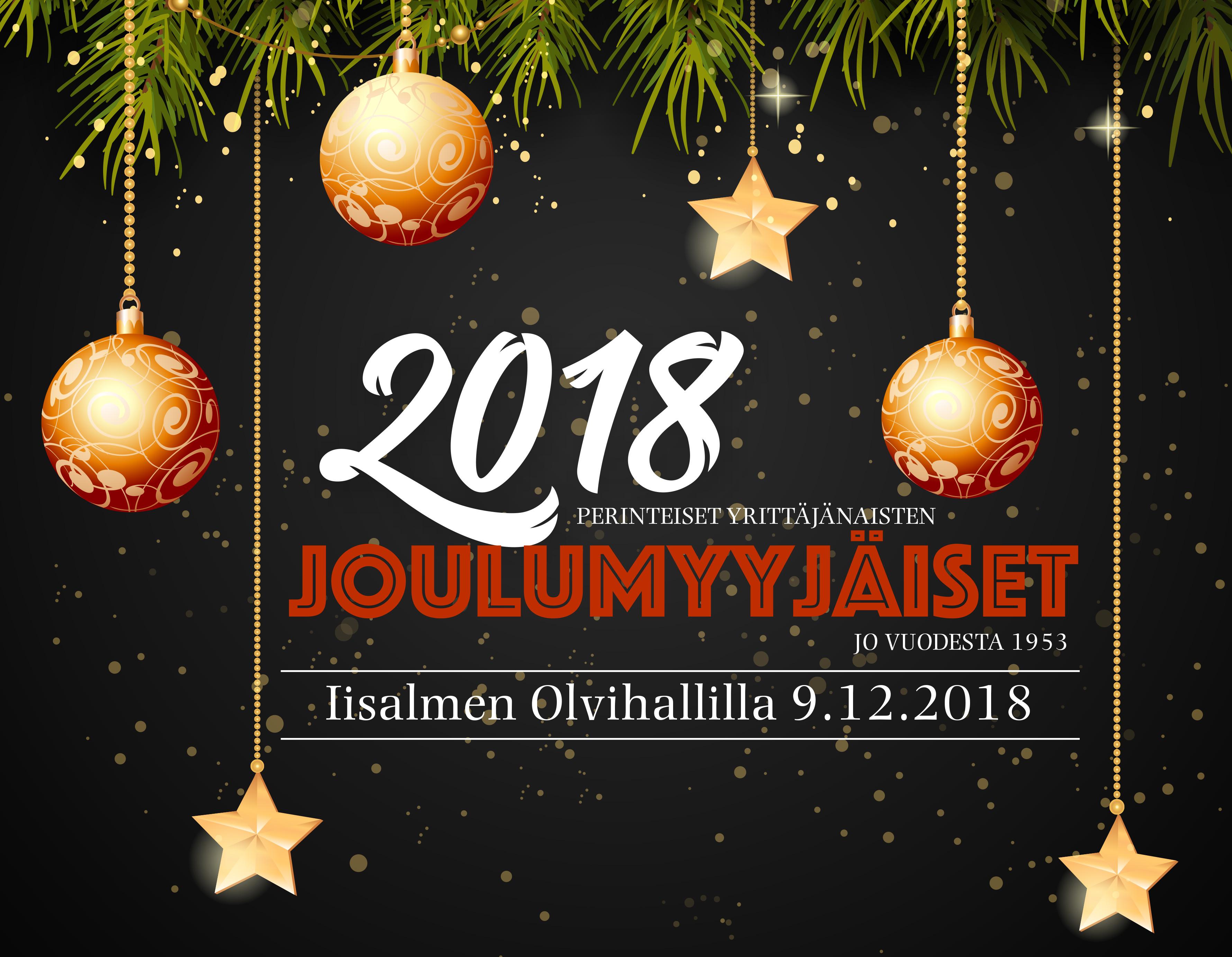 joulumyyjäiset 2018 Perinteiset Yrittäjänaisten Joulumyyjäiset 2018 joulumyyjäiset 2018